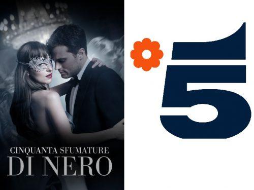 50 sfumature di NERO su Canale 5 RITORNA IN TV, con SCENA AGGIUNTIVA DI ROSSO!