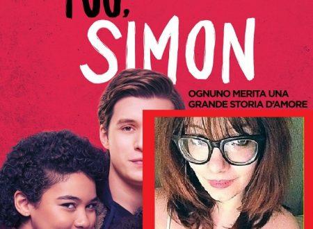 """GIULIA SEGRETI DOPPIATRICE NEL FILM """"TUO,SIMON"""""""