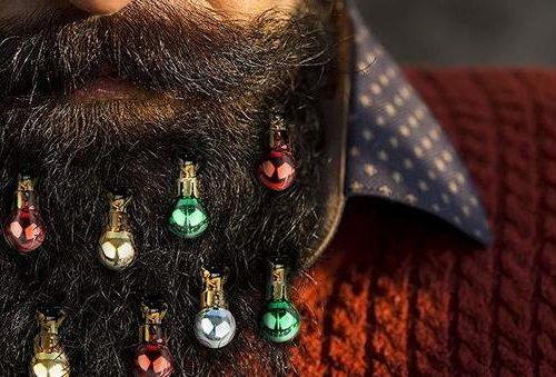 Arrivano le palle di Natale da barba!!!