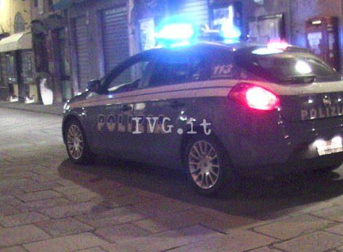 """""""Pattuglione"""" della Polizia ad Albenga: controlli anche sul rispetto delle norme anti-Covid"""